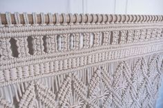 Sophisticated & Refined Bohemian Luxe Macrame Wall Hanging