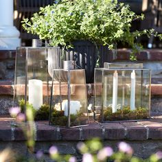 Tapered Rectangle Lantern, Large Porch