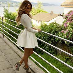 Sylvie Meis on a nice day