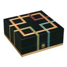 caja-marqueteria-italiana-negro-rayas-colores-ercolano