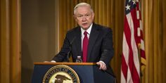 The Attorney General just announced a giant reversal of DOJ policy.