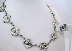 Vintage Danecraft Sterling Silver Thistle by VintagObsessions, $85.00
