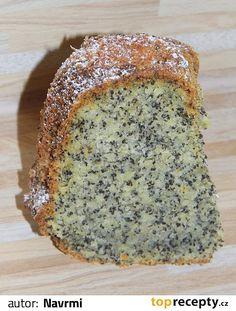 Bábovkovou formu vymažeme máslem a vysypeme hrubou moukou (nebo kokosem). Uvařené a schladlé brambory oloupeme a nastrouháme na jemném struhadle.... Sweet Recipes, Cake Recipes, Bunt Cakes, Sweet Cakes, Cheesecakes, Banana Bread, Deserts, Food And Drink, Sweets