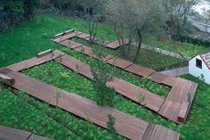 global arquitectura paisagista, Leonardo Finotti · Volcano Pavilion and Water Garden of S. Vicente · Divisare