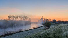 Molen de Vlinder @Deil sunrise by nldazuu.com