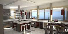#Kitchen Idea of the Day: Blacklines of Design.