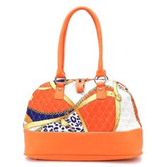 www.ladiesfashionbag.com  Designer inspired handbag  Quilted fabric  Faux leather trim