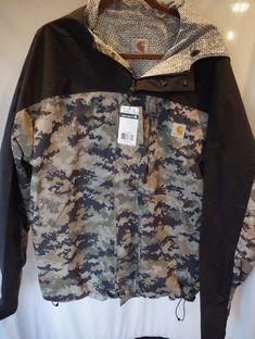 1fd7f448 Brand New Men's XL Carhartt Shoreline Vapor Jacket Bue Digi Camo Jacket HU  HOLI in Clothing, Shoes & Accessories, Men's Clothing, Coats & Jackets
