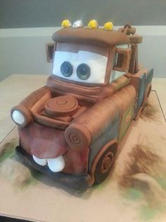 Tow Mater cake by ALL SWEET DESIGNS..