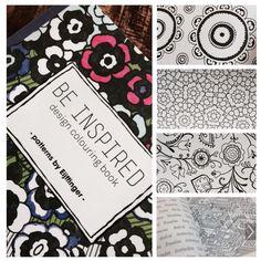 Kleurboek voor volwassenen, kleur zelf de Eijffinger Designs in, leuk!!!