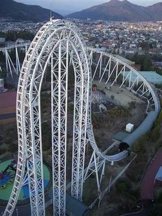 The Dodonpa, Japan. Now THAT is a roller coaster!!