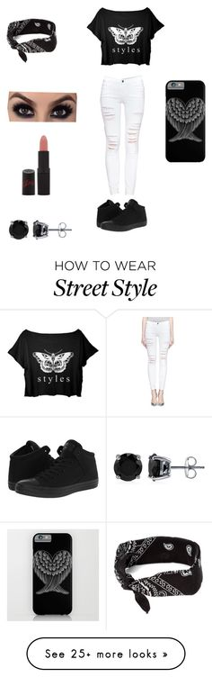 """Styles"" by theycallmepoopey on Polyvore featuring Frame Denim, Converse, claire's, Rimmel and BERRICLE"