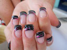 Gel tips with art by NailsbyAnita - Nail Art Gallery nailartgallery.nailsmag.com by Nails Magazine www.nailsmag.com #nailart