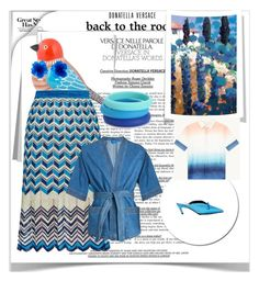 """""""Blue,blue,my world is blue"""" by peeweevaaz ❤ liked on Polyvore featuring Matthew&Melka, Barneys New York, BCBGMAXAZRIA and Chewbeads"""