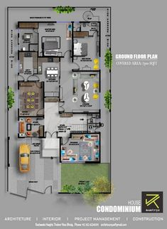 Project Condominium House Type Residential Location Paragon City, Lahore Plot Area 1 Kanal sq yd) Architecture Design Firm Architorque Scope of Work Architecture . Beautiful House Plans, Simple House Plans, Duplex House Plans, Dream House Plans, House Floor Plans, 40x60 House Plans, House Layout Plans, House Layouts, Home Design Floor Plans
