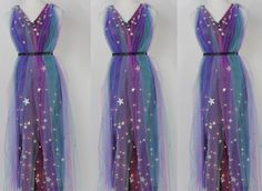 Calling all space goddesses, the mother ship of glam has arrived! Check out this DIY Light-Up Galaxy Goddess Dress. You can make it yourself at home and li