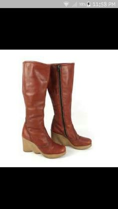 I had these boots!
