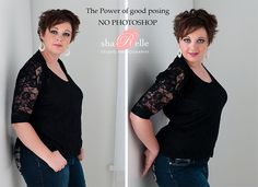 Slimming curvy women. Find your best  curvy looks at Monica Hahn Photography.