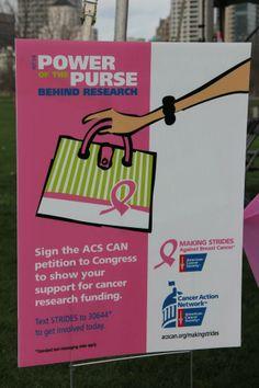 Power of the Purse - 2013 Making Strides Against Breast Cancer Milwaukee #StridesMilwaukee #MoreBirthdays #StridesMKE