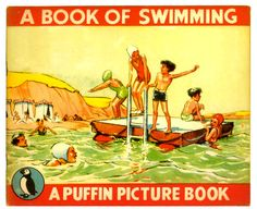 vintage swimming pics   The Art of Children's Picture Books: July 2012