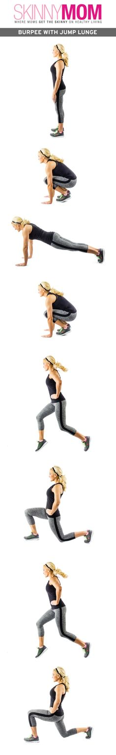 Great way to mix up your burpees!