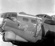 Reno's Raider, Bomb Group Nose Art, Korean War, Raiders, World War Ii, Car, Group, World War Two, Automobile