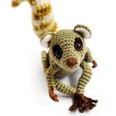 Sartu the Lemur amigurumi pattern by airali handmade