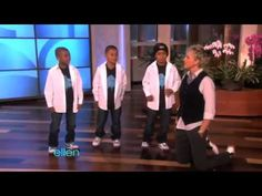 3 Amazing Kid Hip Hop Dancers on Ellen DeGeneres Show (10042010).avi