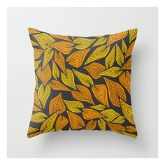 Autumn Night Throw Pillow ($20) ❤ liked on Polyvore featuring home, home decor, throw pillows, abstract throw pillows, autumn home decor, patterned throw pillows, graphic throw pillows and fall home decor