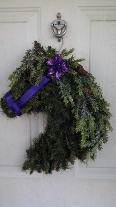 Horse head wreath                                                                                                                                                                                 More