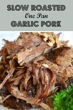 Recipe For Pork Butt Roast, Oven Roasted Pulled Pork, Pulled Pork Roast, Pork Roast In Oven, Pork Roast Recipes, Roast Beef, Crockpot Recipes, Pork Loin, Healthy Recipes