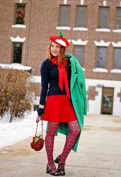 c8cfd339b1fbb 71 Best R E D + G R E E N images | Fashion women, Feminine fashion ...