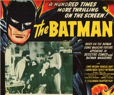 Poster Collective did something very, very impressive. They compiled well over 100 Batman posters, claiming it's every Batman movie/TV poster ever created. That's the first one above. head to the site for more.