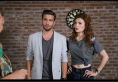 Romantic Couples, Cute Couples, Hayat And Murat, Hande Ercel, Disney Posters, Turkish Beauty, Tv Series, Drama, Handsome