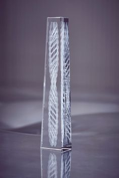 Ross Lovegrove creates crystal trophy with internal double helix for Fashion Awards 2019 Trophy Design, British Fashion Awards, Double Helix, Crystal Design, British Style, Three Dimensional, Swarovski Crystals, Cool Designs, Career