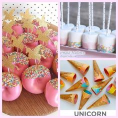 Unicorn Birthday party cake and food, cheap unicorn birthday party on a budget #marilijeanbirthdaypartyideas