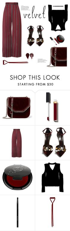 """Untitled #27"" by robertasorrentino ❤ liked on Polyvore featuring STELLA McCARTNEY, Chanel, Lanvin, Rituel de Fille, Boohoo, Gucci and Ann Demeulemeester"