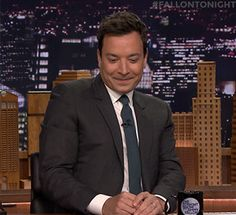 reaction jimmy fallon fallontonight flirting maybe shy coy trending #GIF on #Giphy via #IFTTT http://gph.is/2eH5TgQ