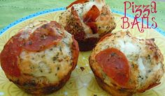 Easy Pepperoni Pizza Balls