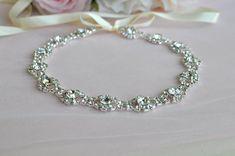 Wedding Hair Accessory Beaded Headband Bridal by Wonderfulbride