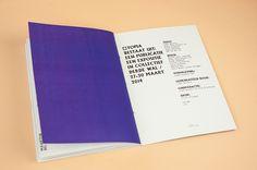 Utopia on Editorial Design Served