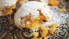 Dried Peach Maamoul Recipe - طريقة عمل معمول بالمشمش