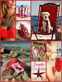 ''  Summer in Red '' by Reyhan S.D.