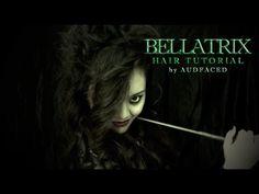 = ☠ Bellatrix Lestrange = Hair Tutorial =