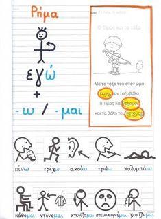 Speech Language Therapy, Speech And Language, Elementary Schools, Primary School, Learn Greek, Greek Language, Teaching Quotes, Preschool Education, School Decorations