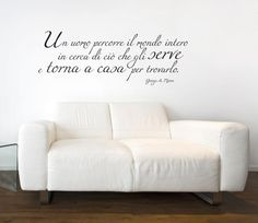 Goerge Moore Wall Stickers