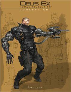 Deus Ex: Human Revolution. Lawrence Barrett