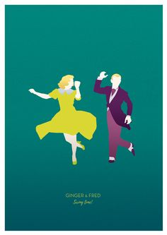 Lindy Hop and Jazz dancing are a daily inspiration. Meet my little dancers! Tribute to the great Ginger Rogers & Fred Astaire.