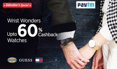 Wrist Wounder! Upto 60% Cashback On Watches Shop Now For Your Loved One @ http://goosedeals.com/home/details/paytm/126310.html