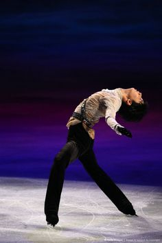 Yuzu at the World Championships 2014 Exhibition Gala. :) I was so excited that he did his R&J program, which is my favorite program of his. He skated beautifully. Proud of my Yuzu. <3